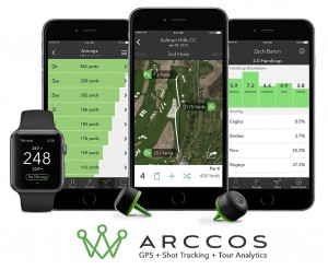 Arccos Golf Tracking System Output