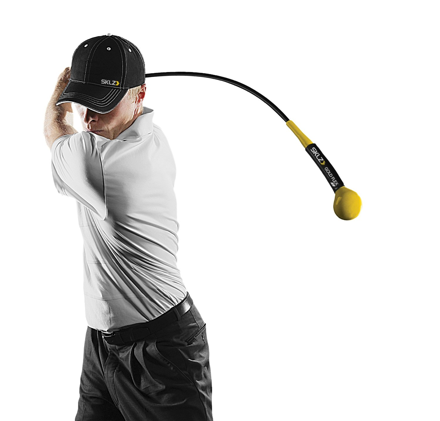 Best Full Swing Training Aids: SKLZ Gold Flex Strength and Tempo Trainer