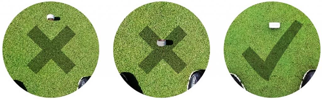 Golf Putter Wheel Training Aid