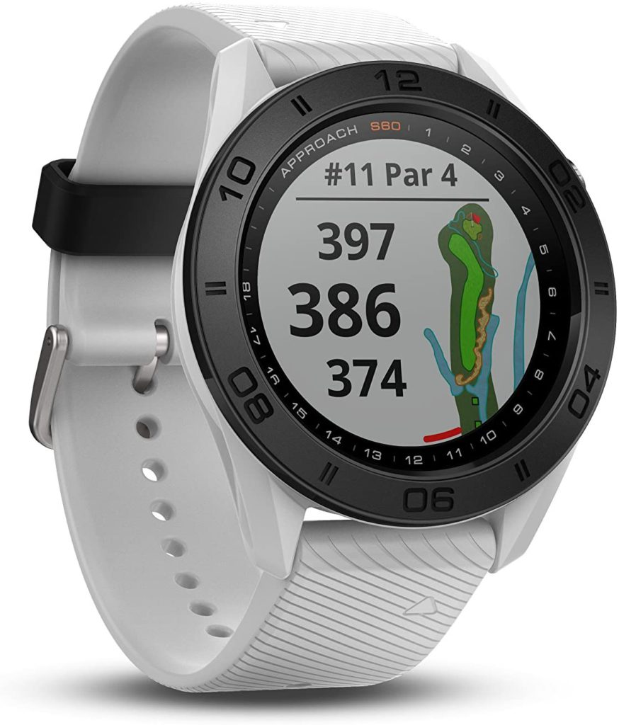 Best Technology-Based Golf Training Aids: Garmin Approach S60, Garmin GPS Golf Watch white